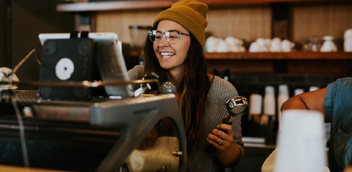 Linea caffè in grani per bar e ristoranti