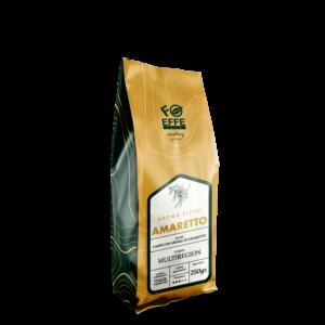 Caffè macinato aromatizzato all'amaretto