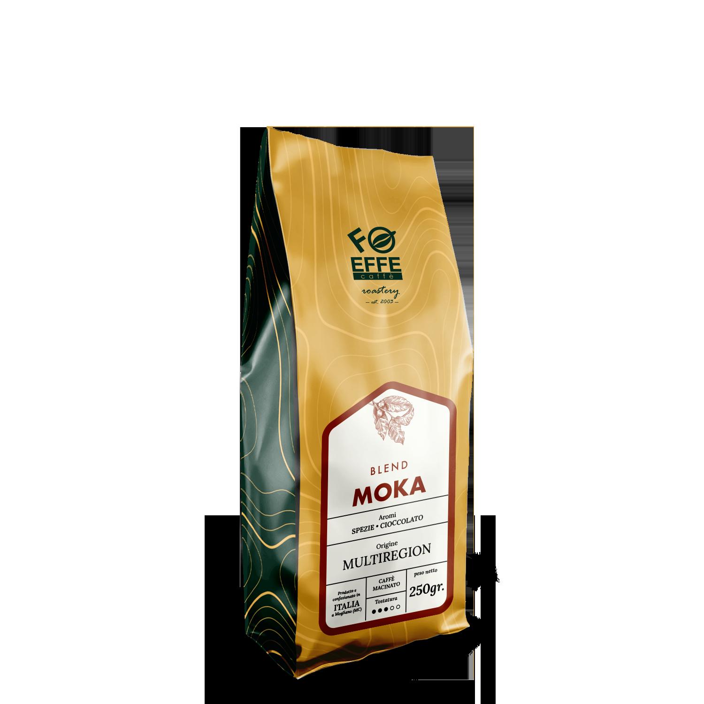 Caffè macinato per la moka