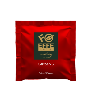 Cialde caffè espresso al ginseng. Micro torrefazione artigianale Effe Caffè